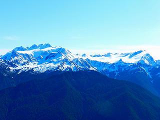 Mt. Olympus from Bogachiel Peak