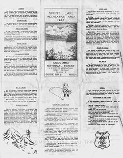 Spirit Lake Recreation Guide No. 6