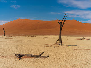 More from road tripping around Namibia.  These are the dunes and flats of Sossusvlei.  Fuji GFX50s and Contax 50mm 1.4