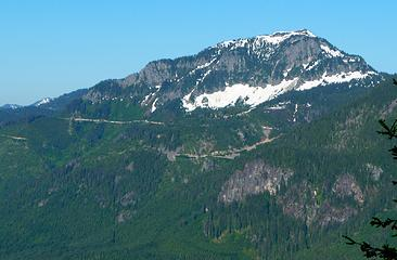 Eagle Rock from Johnson Ridge trailhead
