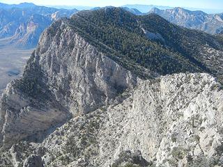 Ridge to El Padre