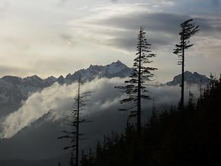 Mt Constance again, Warrior Peak on the right