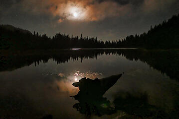 Reflection Lake Moonrise