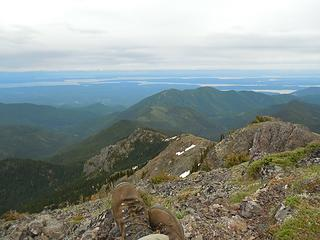 Summit view from Townsend, 12 June