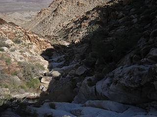 tons of slickrock falls