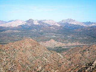 Cabeza Prieta Peak and Cabeza Benchmark
