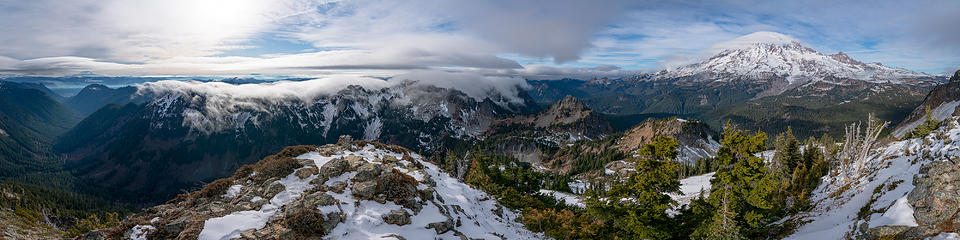 Summit pano west