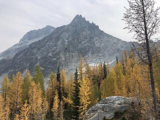 Star Peak to the south