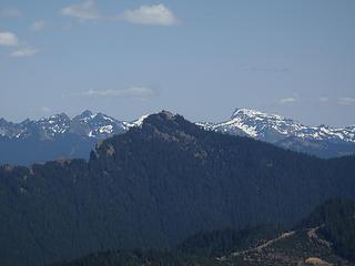 High Rock and Unicorn Peak