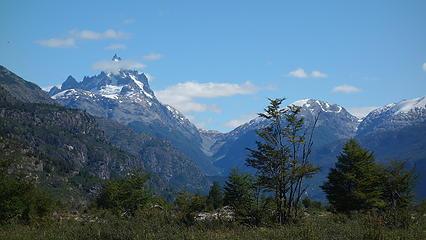 First views of Cerro Disfiladero