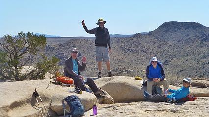 Happy summiteers.