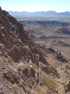 more downclimbing