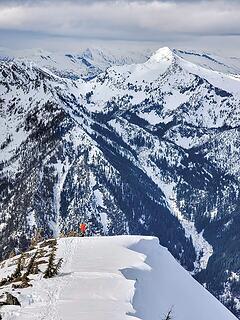 Alper on the ridge