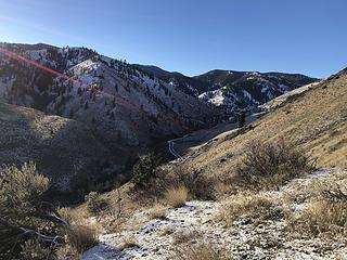 #2 Canyon Road below