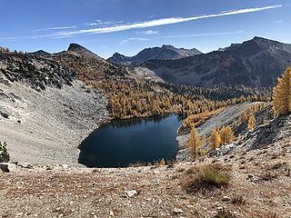Bernice Lake below