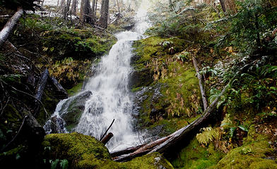 Side trip to the waterfall just below Horse Camp