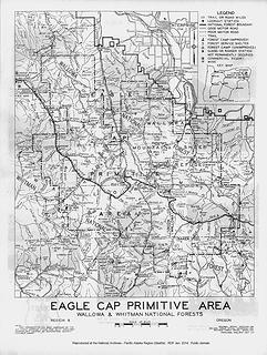 Eagle Cap Primitive Area 1938