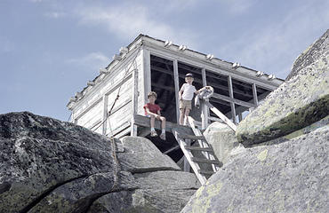 Pilchuck Lookout - Aug 1987