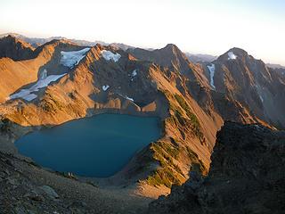 Just below Crystal Peak