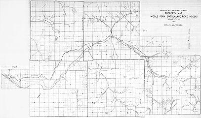 1937 Middle Fork map