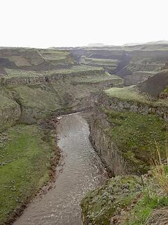 Palouse River below the falls.