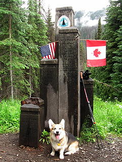 Al hiked all the way to Canada on the PCT!   Well, yeah, he's a poser, sure.