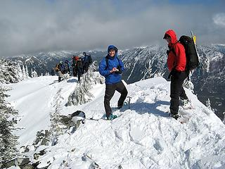 Group on south summit
