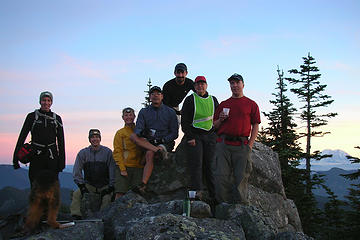 Humpback Mt Summit Shot