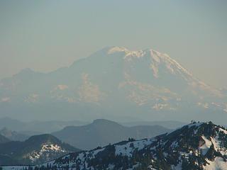 Rainier and Little T spook Granite Peak