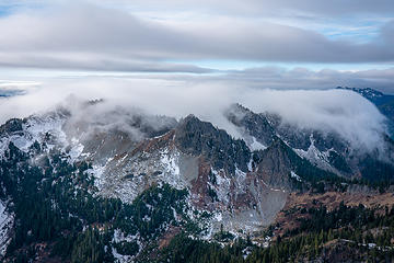 West Tatoosh Peaks