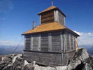 A cupula style lookout built in 1924.