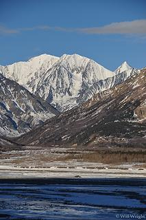 Near Black Rapids, Alaska Range