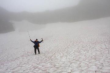 Greg on Chaney Glacier