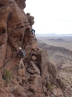 traverse to summit finish