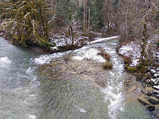Granite Creek confluence 02/04/2020