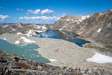 Iceberg Lake + Baker Lake