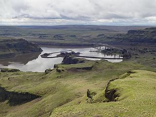 Lyons Ferry area. Three rivers join here; The Palouse, Tucannon and Snake.