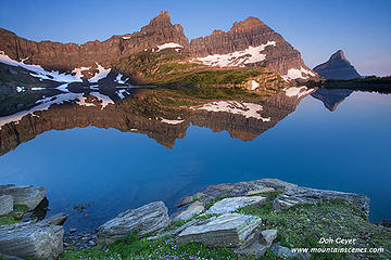 Cathedral Peak Reflection