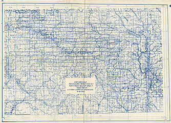 1942 USFS aerial photo line index