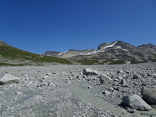 Griswold Peak and outwash