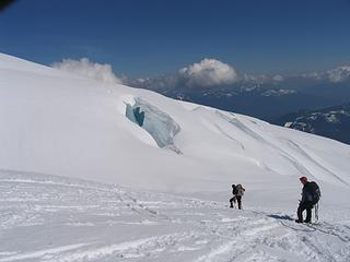 Baking on Baker during the descent