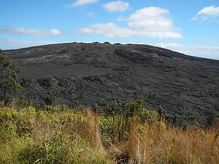 Mauna Ulu seen from Pu'u Huluhulu