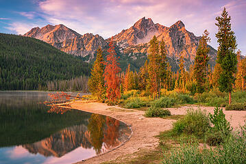 Stanley Lake, Sawtooth Wilderness, Idaho