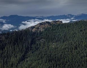 Rocks on Kachess Ridge