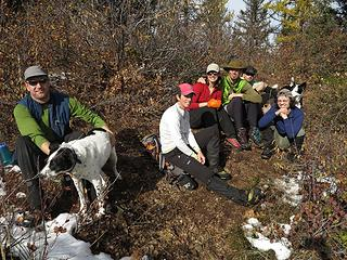 Group at Bearjack East summit