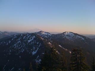 Granite Mt lookout with Rainier