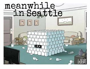 meanwhile in Seattle