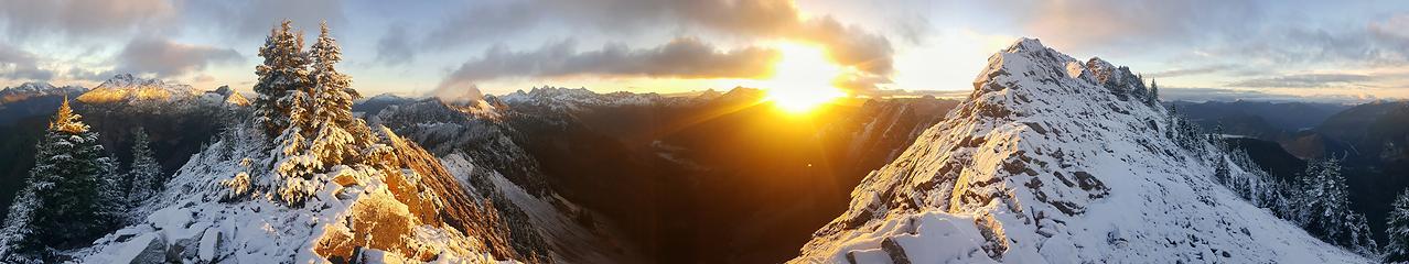 Kendall Peak Ridge Sunrise