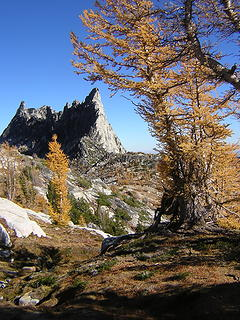 The siren call of Prusik Peak granite, which my brother bravely resisted today