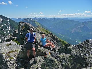 Summit shot looking E toward Snoqualmie Pass